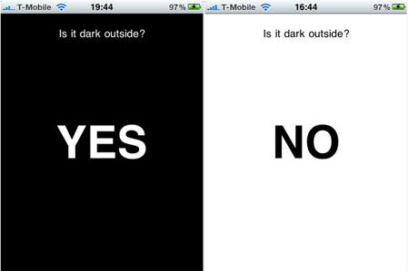 is it dark outside - banner