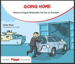 Tiipi 2: Going Home. How an expat relocates his car to europe